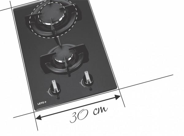 Glass Hob 30 cm